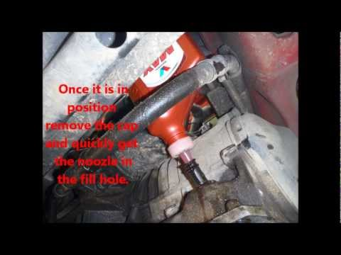 How To Change The Automatic Transmission Fluid And Filter