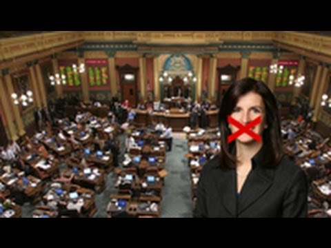 "Michigan Lawmaker Says ""Vagina,"" Is Banned From House Floor"