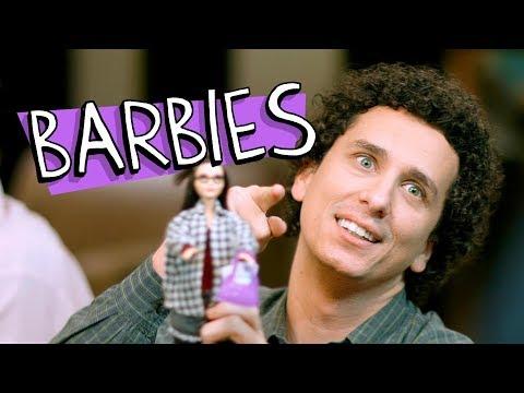 BARBIES Vídeos de zueiras e brincadeiras: zuera, video clips, brincadeiras, pegadinhas, lançamentos, vídeos, sustos