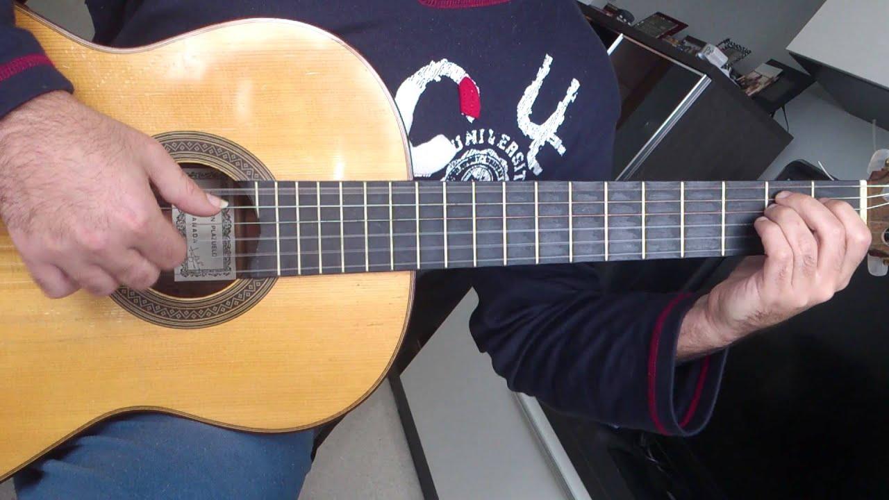 Pollito pio guitarra acordes en tab en pc youtube for Tu jardin con enanitos acordes