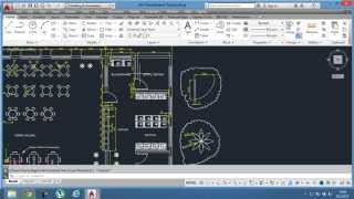 46-)Yemekhane Projesi / AutoCAD Education /