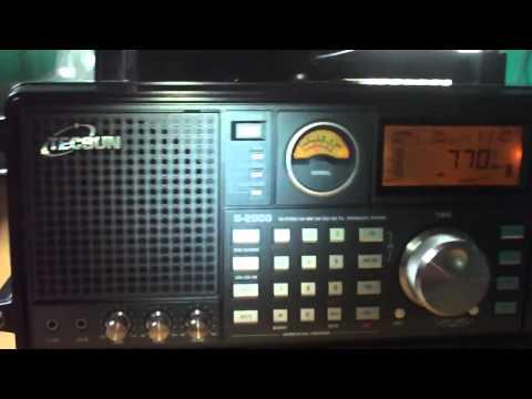 770 khz Radio Xavantes , Jaciara , Mato Grosso , Brazil