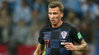 Mario Mandzukic - Skills and Goals - Croatia vs England - Croatia in Final - Croatia vs France