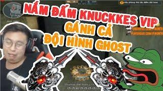 1 MÌNH GÁNH CẢ TEAM GHOST vs Knuckles VIP • Pino NTK