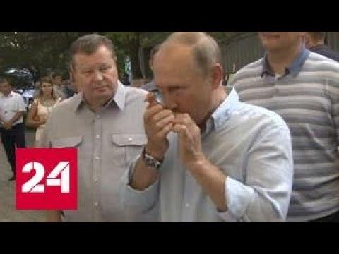 Владимир Путин рассказал, как руководить самым большим оркестром в мире