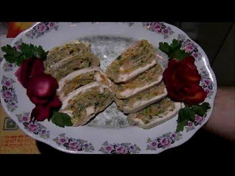 Przepis Galantyna Rolada  Z Kurczaka Na Obiad