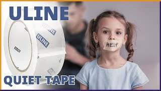 Uline Quiet Tape Review - Quiet Packing Tape