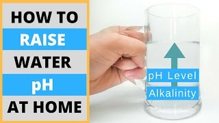 How To Make Alkaline Water At Home  Diy Raise Water Ph Level Naturally And Without Machines
