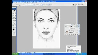 Photoshop Tutorial: How to Create a Pencil Drawing From A Photo In Photoshop