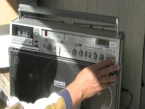 Aiwa Cassette Recorder Cassette Recorder 2-band