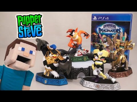 Skylanders Imaginators Crash Bandicoot Ps4 Starter Pack Unboxing Review TGN Network