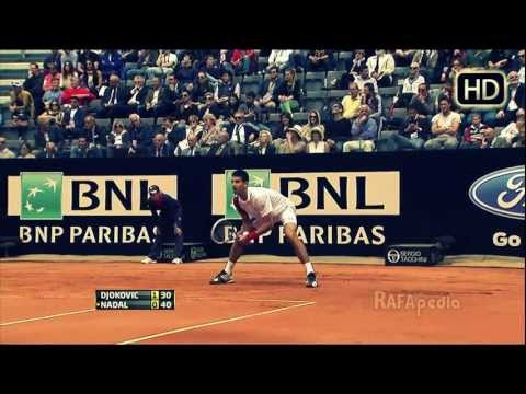 Nadal Vs Djokovic Rome  2012 (HD)