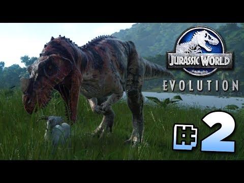 CREATING DINOSAURS! - Jurassic World Evolution   Ep2