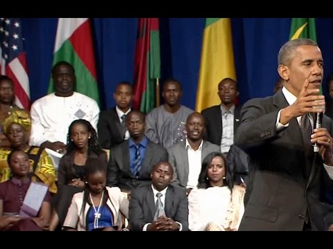 President Obama: if You're A Strong Man, You Should Not Feel Threatened By Strong Women. video