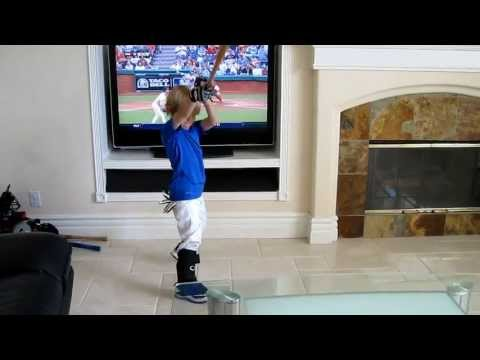When You Let Your Kid Play Ball in the House, 4 year-old Baseball Trick Shot Kid Christian Haupt