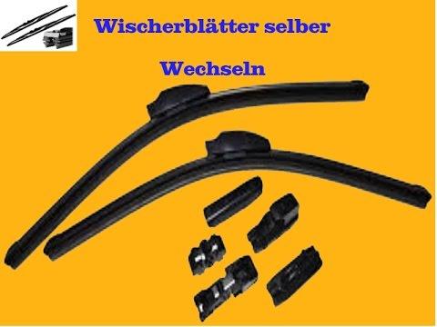 Wischerblätter wechsel beim BMW 320D E90