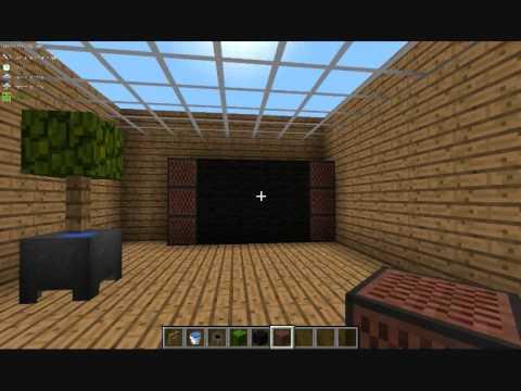 Minecraft l faire un cran plat une plante et une table - Comment faire une table dans minecraft ...