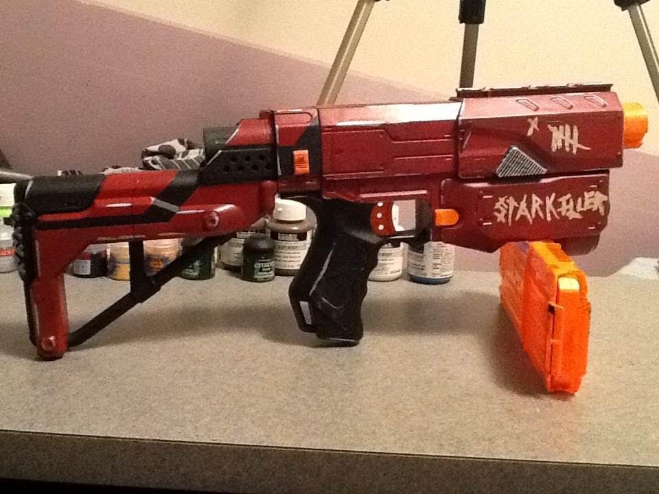 Custom nerf gun paint youtube