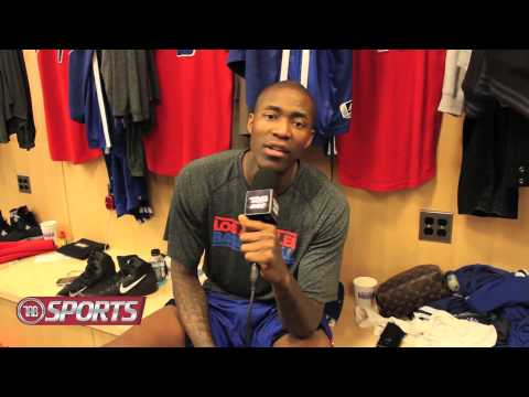 Los Angeles Clippers Guard Jamal Crawford  TAB Drop