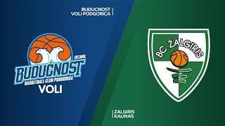 Buducnost VOLI Podgorica - Zalgiris Kaunas Highlights | Turkish Airlines EuroLeague RS Round 6