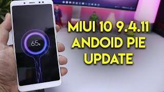 MIUI 10 9.4.11 PIE BETA UPDATE REVIEW | REDMI NOTE 5 PRO | हिन्दी