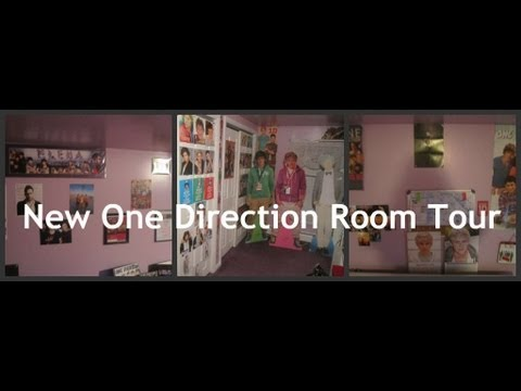 NEW One Direction Room Tour! *September 2013*