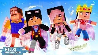Minecraft: HELLO NEIGHBOR - ESTAMOS FLUTUANDO NO CÉU DO PARAÍSO!!! | EP 38 [ WIIFEROIZ ]