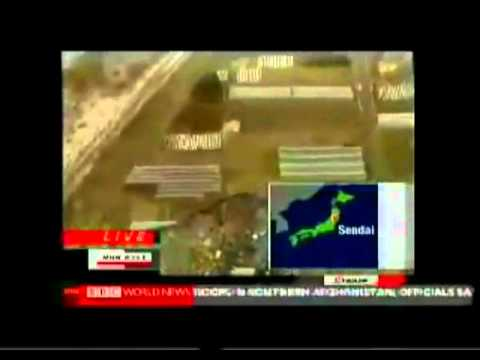 Japan Earthquake and Tsunami: UFO spotted?