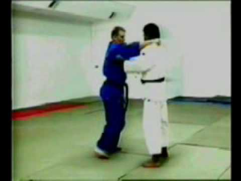 Ushiro-goshi judo throw Image 1