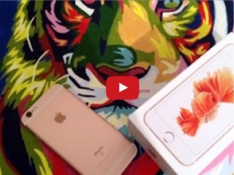 Что в моем iPhone 6 s  Rose Gold What's on my iPhone 6 s  Rose Gold