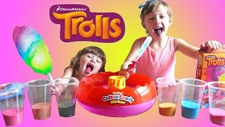 TROLLS MOVIE Super FUN Cotton Candy Maker | The Disney Toy Collector