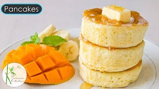 Fluffy Pancakes Without Moulds   ]Pancakes with Eggs Recipe  Breakfast Recipe ~ The Terrace Kitchen
