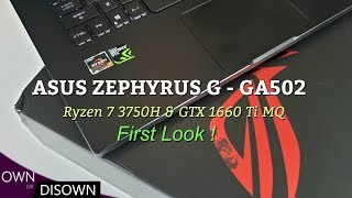 Asus Zephyrus G (GA502) Unboxed First Impressions !