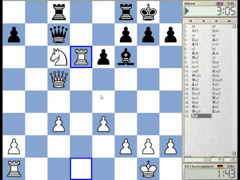 Blitz Chess #952 with Live Comments Queens Gambit Classical Bf4