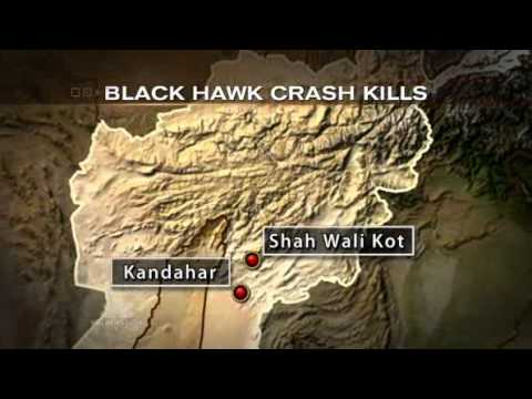 US Army Confirms Taliban shot down Blackhawk over Kandahar killing 7 US troops including 2 NS