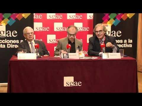 Elecciones SGAE. Rueda de prensa (parte 2).