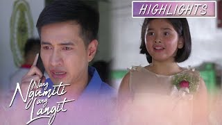 Michael cannot control his emotions after knowing about Mikmik's identity | Nang Ngumiti Ang Langit