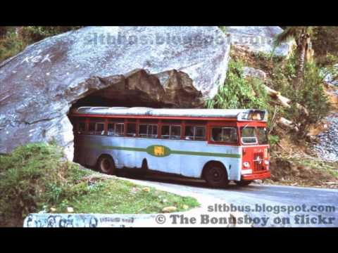 OLD CTB BUSES IN SRI LANKA