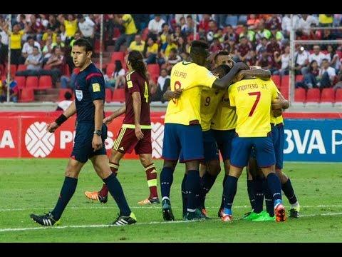 Venezuela 1 Vs 3 Ecuador   Relato de Walter Ruiz   Eliminatorias a Rusia 2018
