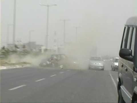 Fiat Palio Crash. Noida. India