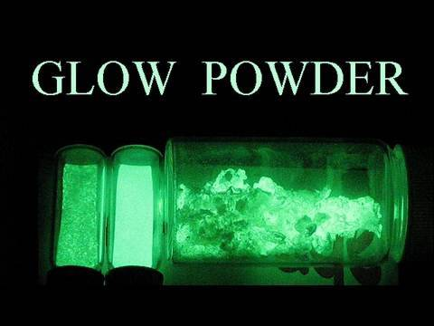 How To Make Glow in the Dark Powder Video