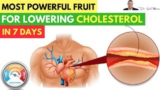 🍐 Most Powerful Fruit Lowers Your Cholesterol In Only 7 Days -  Clinically Proven!