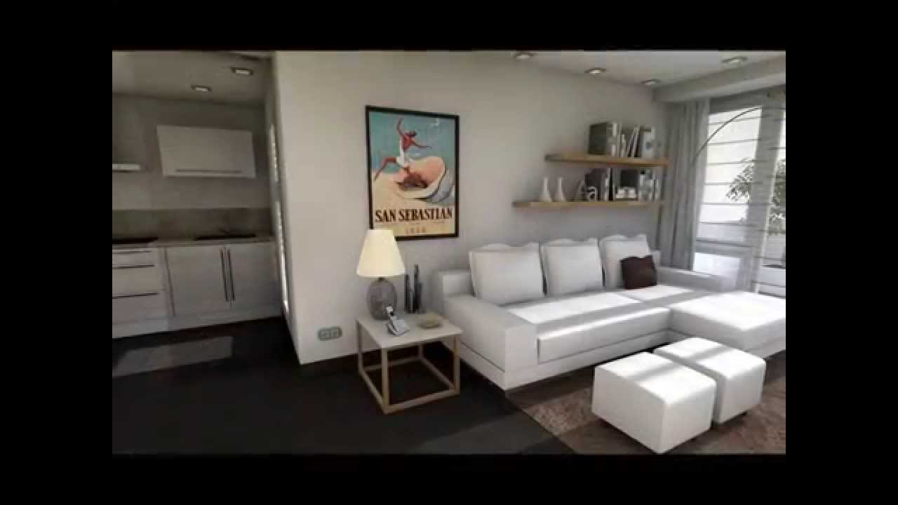 Dise o interior un apartamento en la playa youtube - Decoracion apartamentos playa ...