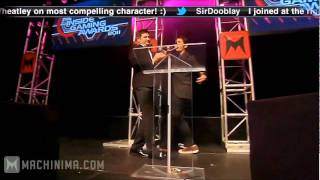 Tobuscus headbutts Adam Kovic at IGA 2011