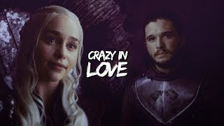 Jon & Daenerys | Crazy In Love (7x03)