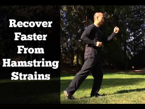 Strained Hamstring Exercises Hamstring Strain Recovery
