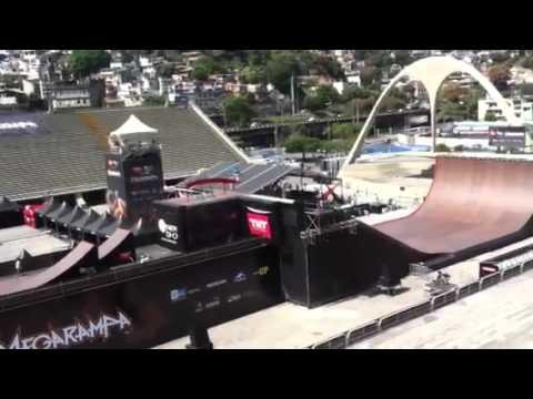 Adam Taylor practice run MegaRamp Rio