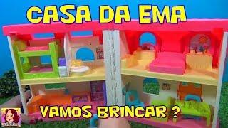 CASA DA EMA - CASA DE BONECA FISHER PRICE SUPER LEGAL #tiaCris #casa #brinquedo