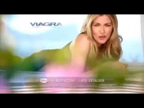 Viagra Ad with British Woman