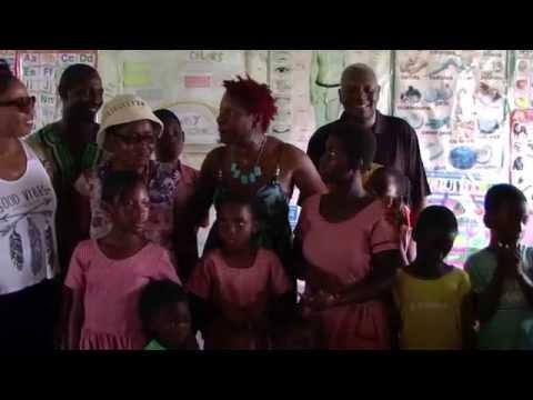 Trinity Academy School Supplies Donations Ghana Tour Oct 2015